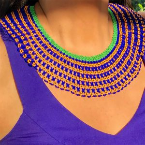 Fashionable Handmade Necklace Made In Colombia